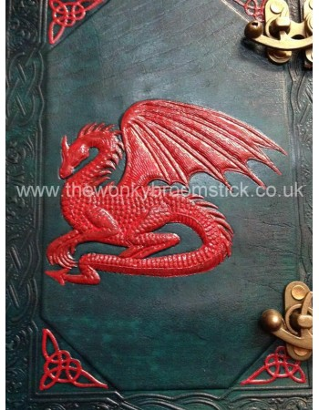Green & Red Dragon Book of Shadows